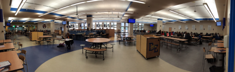 Remodeled Cafeteria at East